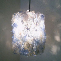 Eko svetilka iz plastenk